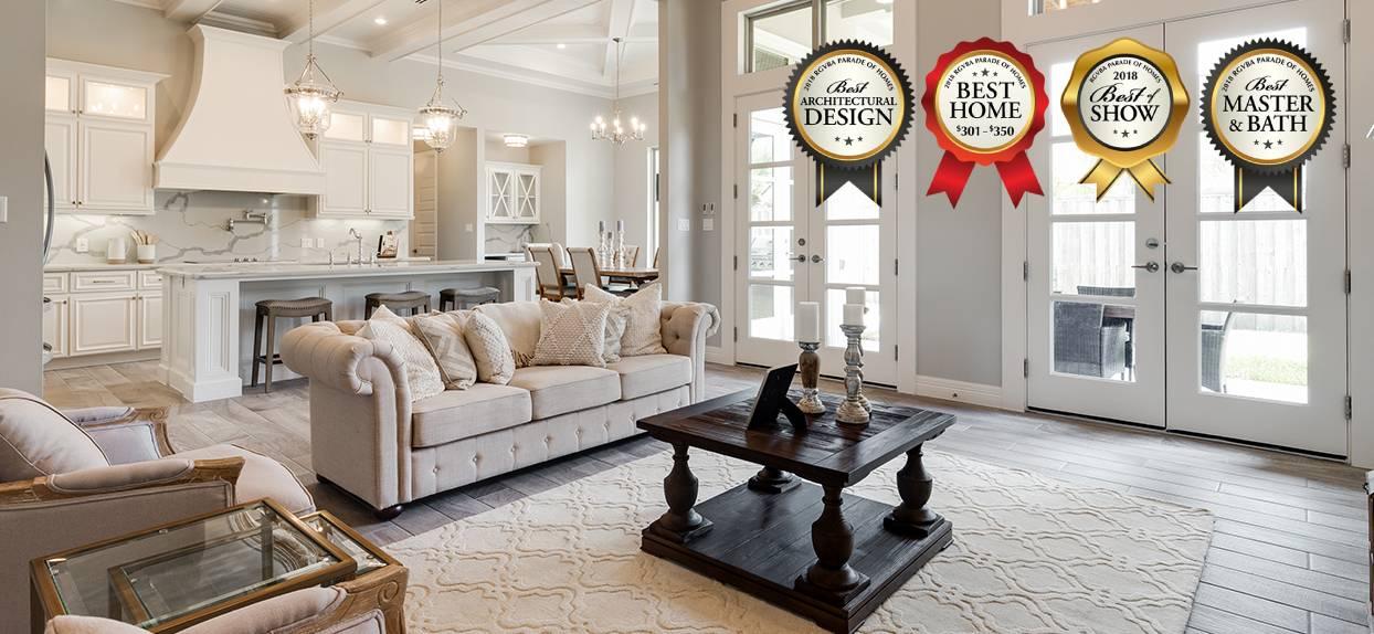 Parade of Homes RGV - Award winning home interior
